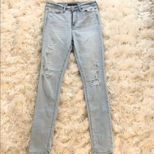 Women's ripped jeans Abercrombie & Fitch